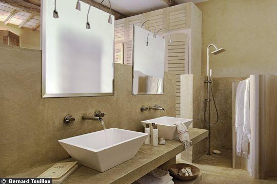 Ma salle de bain id ale chroniques d 39 une chocoladdict for Peinture salle de bain naturelle