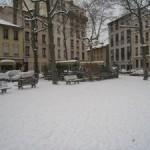 Tombe la neige ….sur Lyon