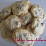 Cookies caramel chocolat