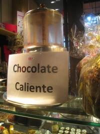 chocolat chaud marché couvert