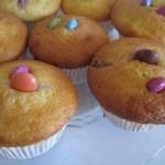 Petits gâteaux yaourt aux smarties