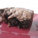 Match  brownie industriel / brownie maison