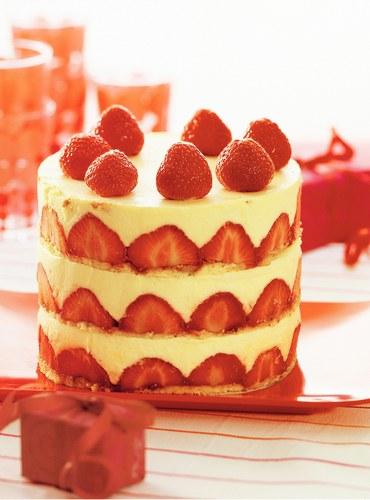 Variation autour de la fraise