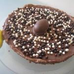 Tarte chocolat au lait-caramel