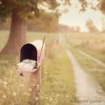 Le bonheur c'est simple comme une boîte aux lettres remplie