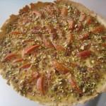 Tarte aux abricots et aux pistaches