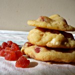Cookies fraise et chocolat blanc