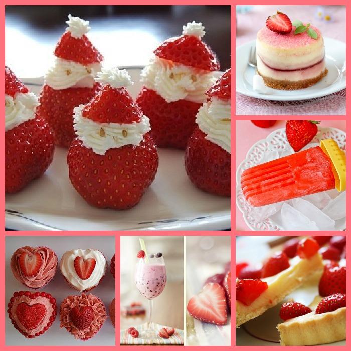 Dans ma cuisine, des fraises …