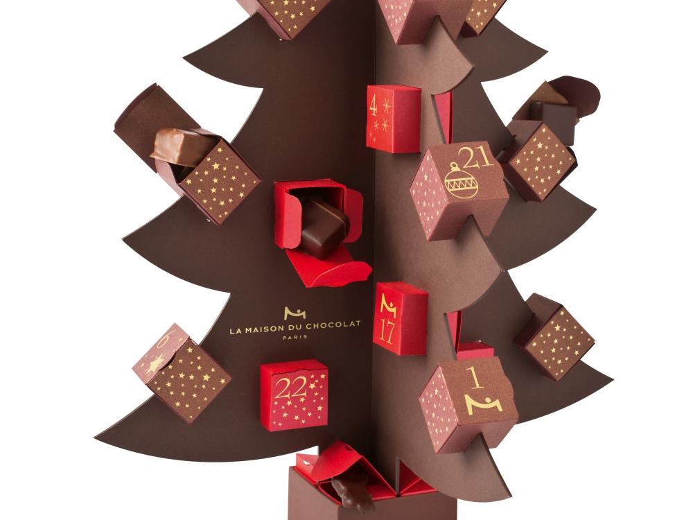 Dans ma cuisine, des calendriers de l'Avent chocolat