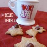 Biscuits à la cannelle et aux noisettes