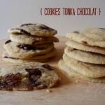 Cookies au chocolat noir et à la fève tonka