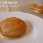 Mini tartes tatin aux poires