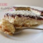 Cheesecake fraise & chocolat blanc