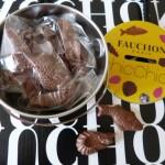 Des oeufs de Pâques Fauchon Chic Chick dans ma boîte aux lettres