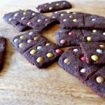 Des sablés dominos pour une rentrée chocolatée