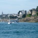 Dinard, vue mer