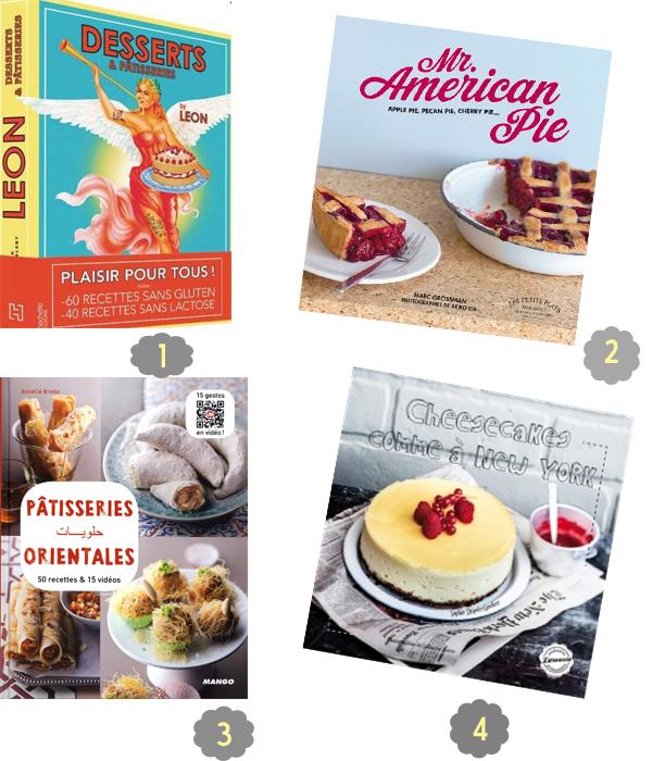 selection livre pâtisserie