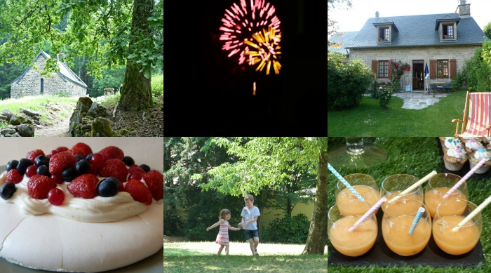 juillet collage