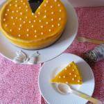 Cheesecake mandarine, chocolat blanc et poivre blanc