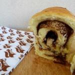 Brioche à la pâte à tartiner et au beurre de cacahuètes