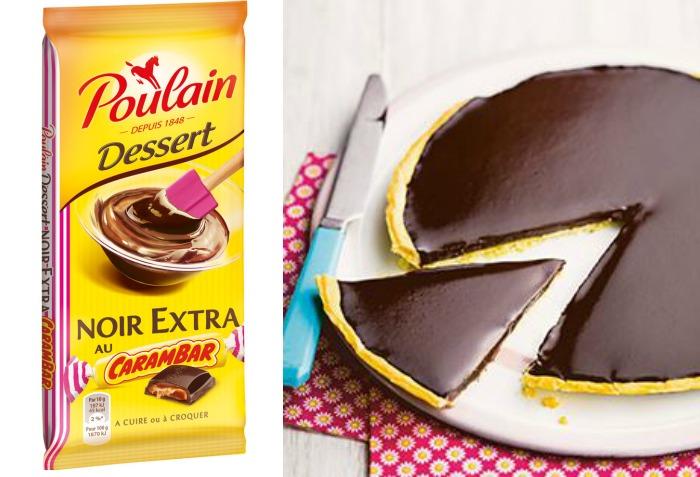 Le chocolat Poulain croque Carambar (des tablettes à gagner )