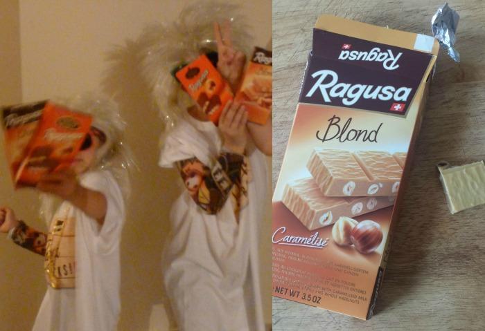 Ragusa partie (des tablettes de chocolat à gagner)