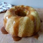 Bundt cake aux pommes et au caramel