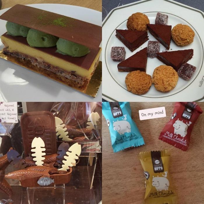 chocolat mars collage