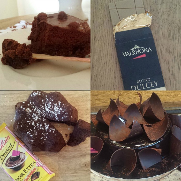 chocolat novembre collage