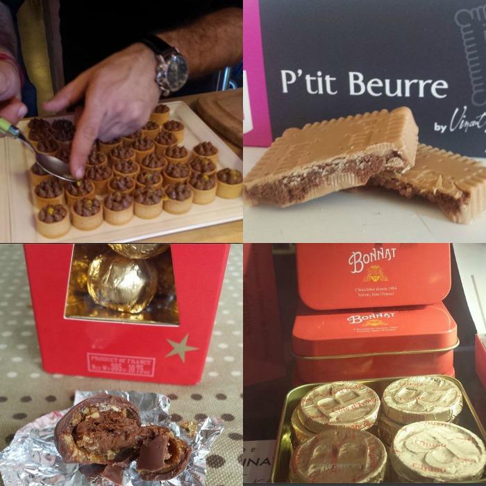 chocolat octobre collage