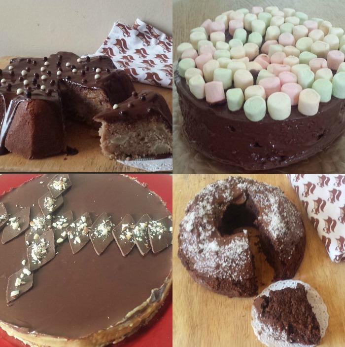 chocolat septembre collage