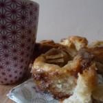 Cinnamon rolls aux pommes et sirop d'érable