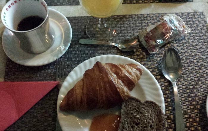 petit déjeuner Etretat