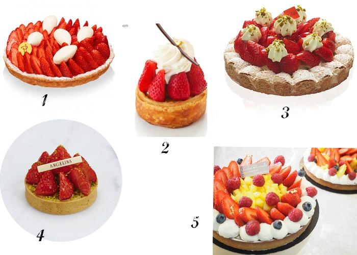 selection fraise