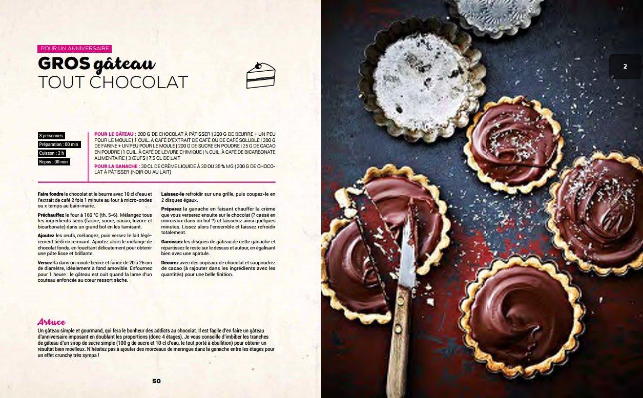 spécial goûter : le gâteau marbré - chroniques d'une chocoladdict