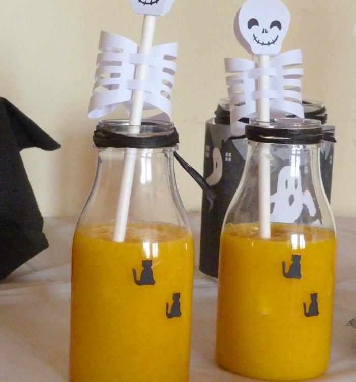 {Spécial Halloween} : Smoothie mangue & orange