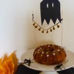 {Spécial Halloween} : Moelleux fruit de la passion & chocolat au lait