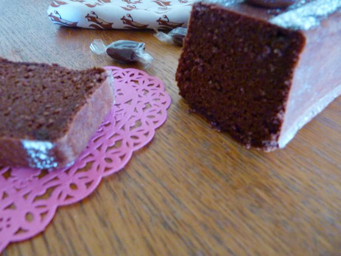 cake au chocolat et aux caramels mous 4