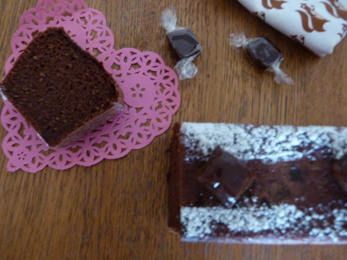 cake au chocolat et aux caramels mous 5