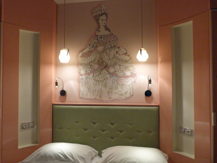 chambre gourmandise Vice Versa Hôtel