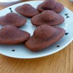 Madeleines inratables au chocolat
