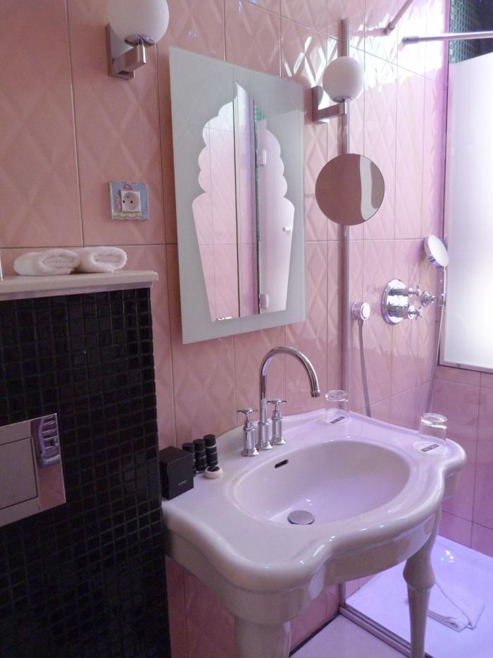 salle de bain Vice Versa hôtel