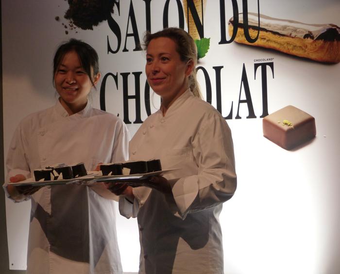 Les femmes chocolat au Salon du Chocolat de Paris édition 2015