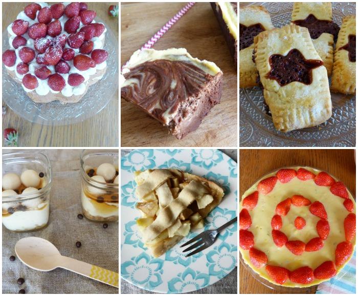 gourmandises 2015 collage
