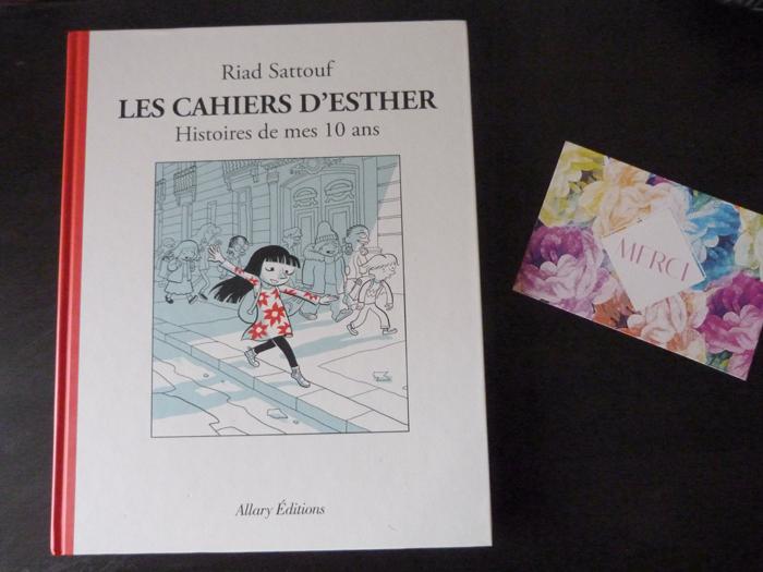 Pourquoi j'ai aimé Les cahiers d'Esther de Riad Sattouf