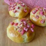 Briochettes à la praline rose