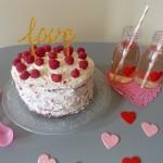 {Spécial Saint-Valentin} : Red velvet aux framboises