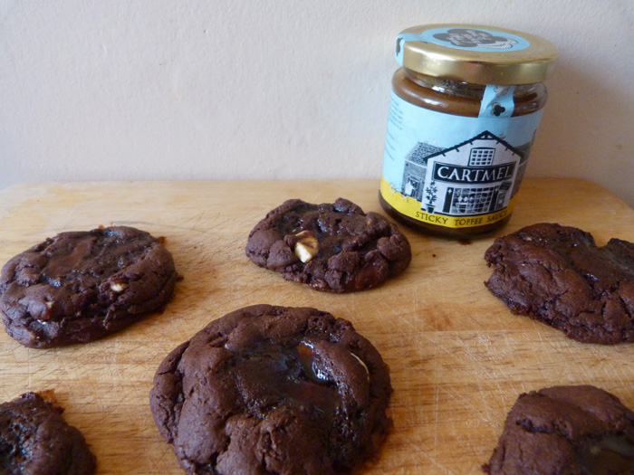 cookies choco caramel