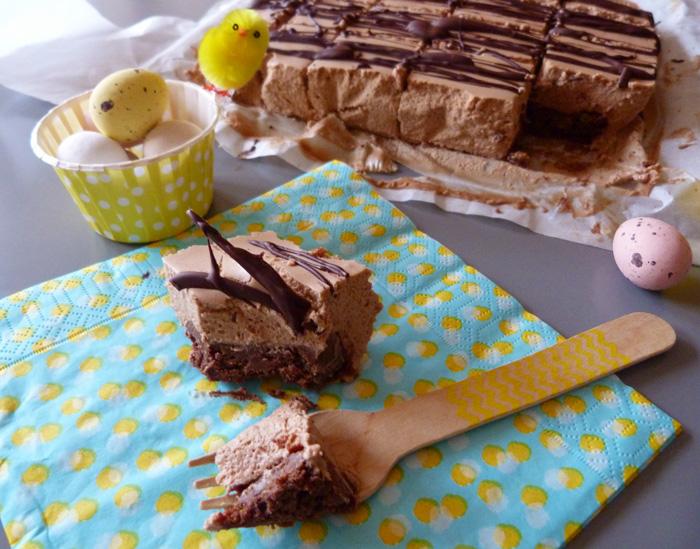gâteau choco-mousse caramélia