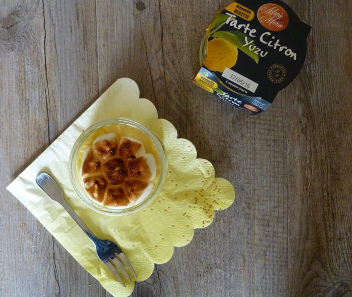 tarte citron yuzu